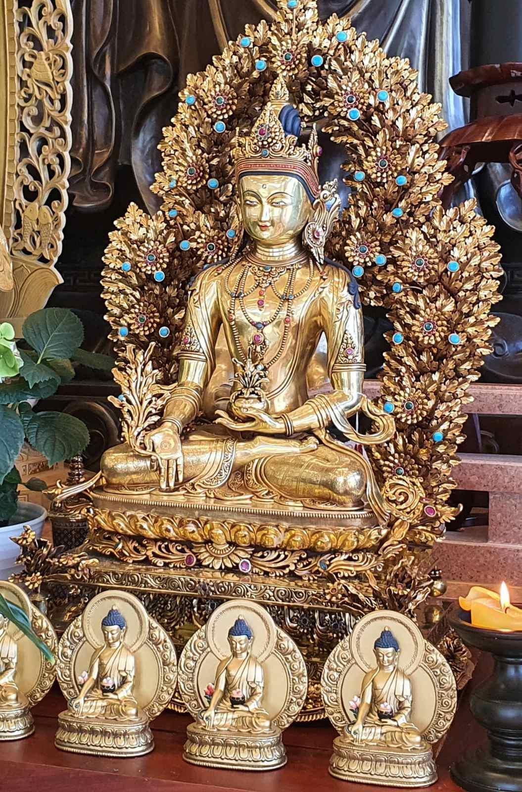LHĐT – Hùn Phước Tạo Thất Phật Dược Sư.