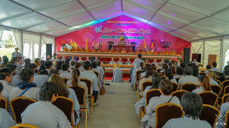 LHĐT – Chương Trình Khóa Tu Học Phật Pháp Kỳ 35 – 01-08.08.2020