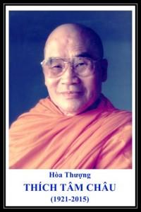 Đại Lão Hòa Thượng THÍCH TÂM CHÂU (1921-2015)